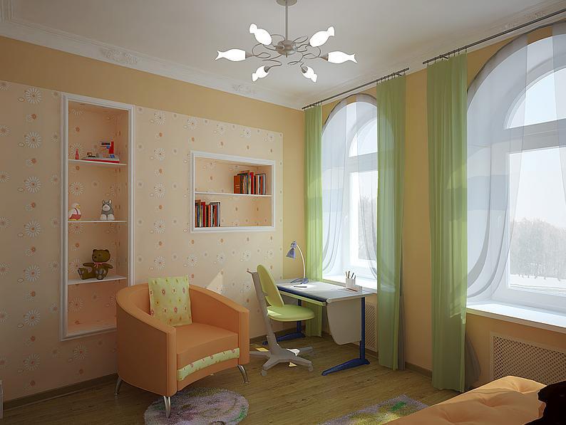 Ремонт в детской комнате своими руками дешево
